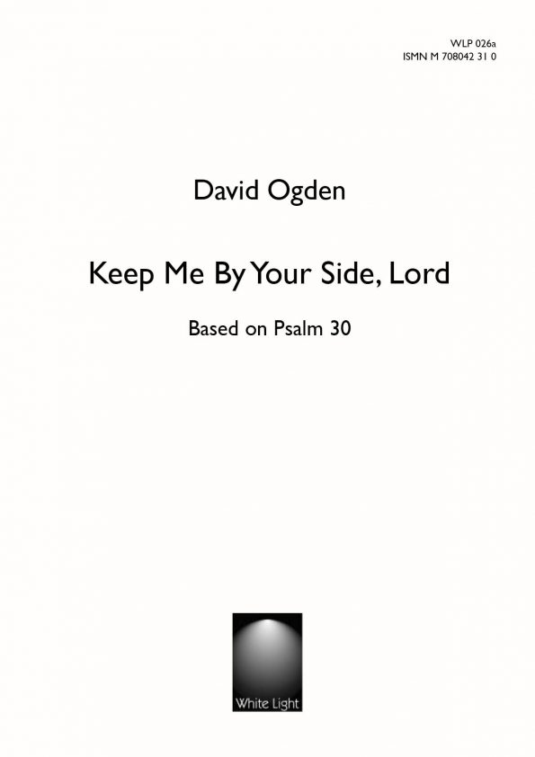Keep my by your side Lord