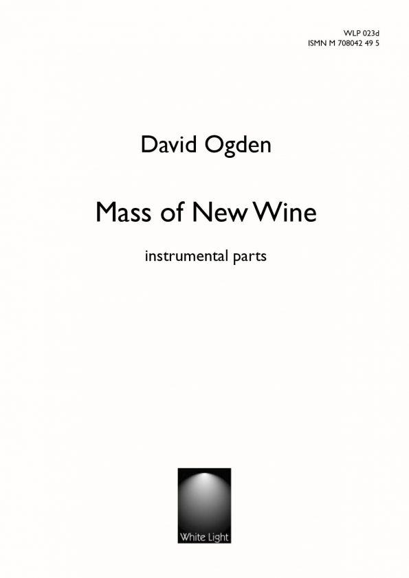 Mass of New Wine instrumental parts
