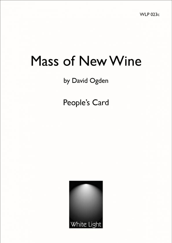 Mass of New Wine Peoples Card