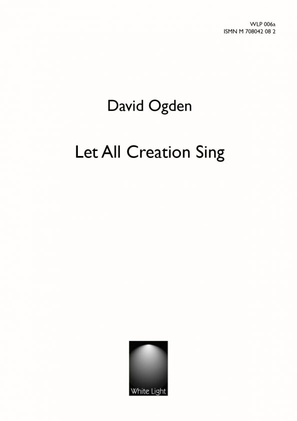 Let all creation sing