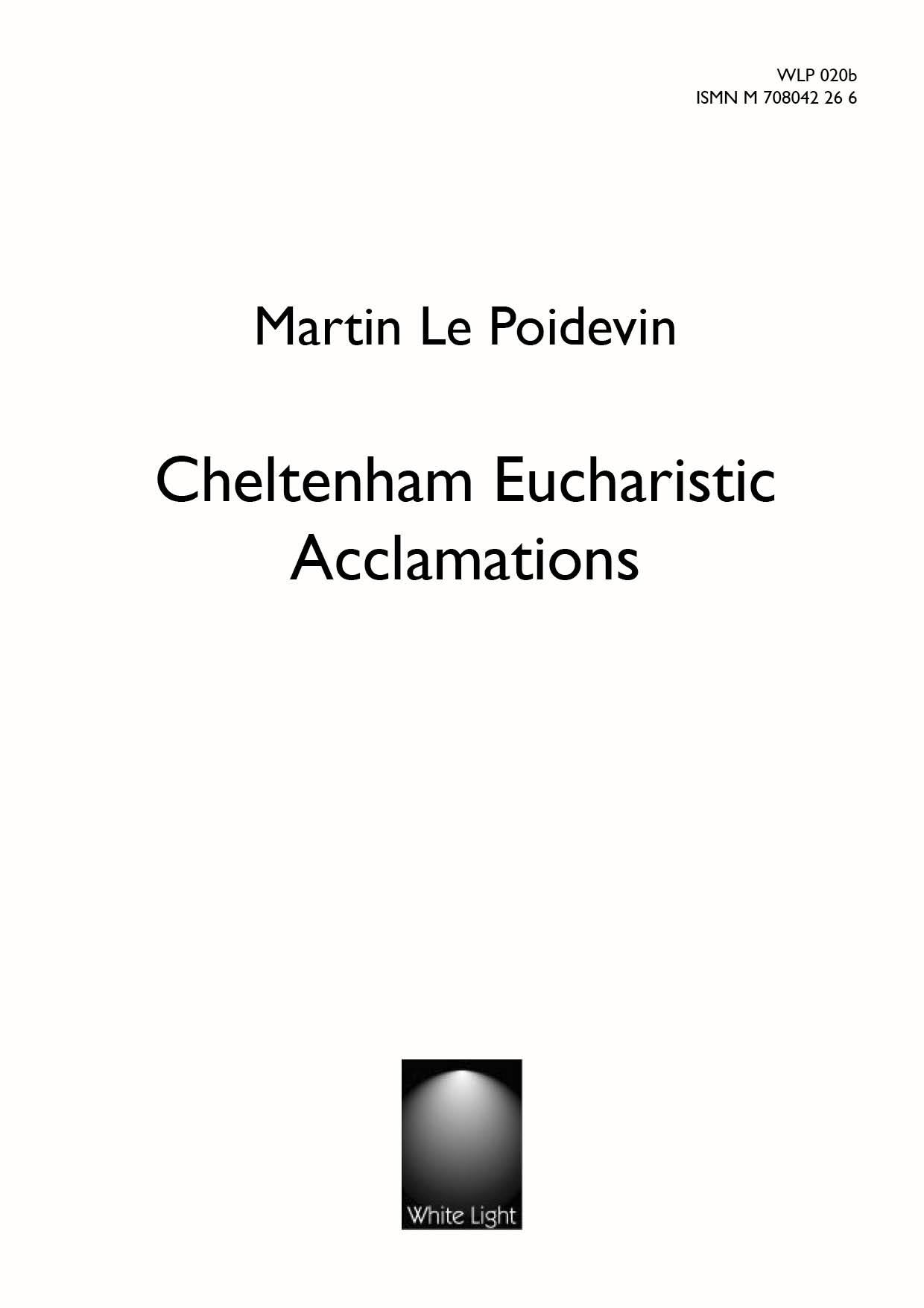 Cheltenham Eucharistic Acclamations