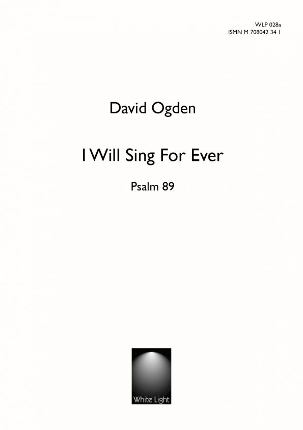 I will sing for ever