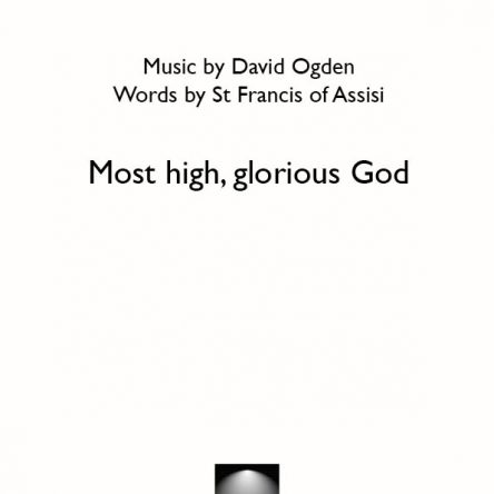 Most high, glorious God