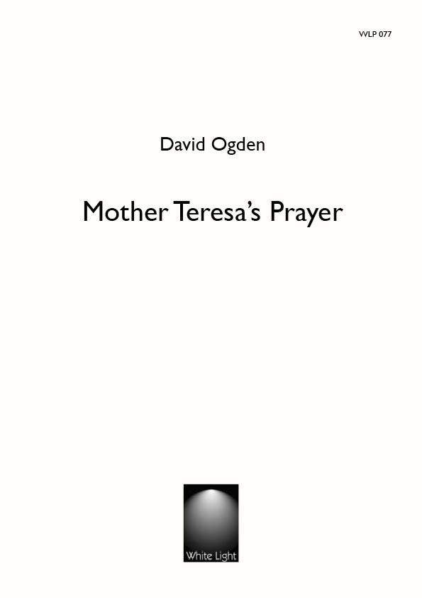 Mother Teresa's Prayer